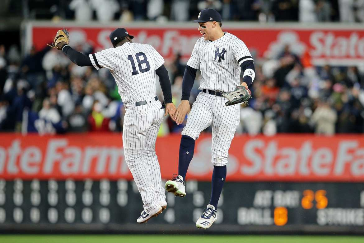 New York Yankees, Didi Gregorius, Aaron Judge
