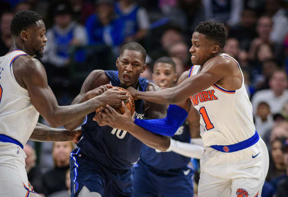 New York Knicks, Frank Ntilikina, Julius Randle