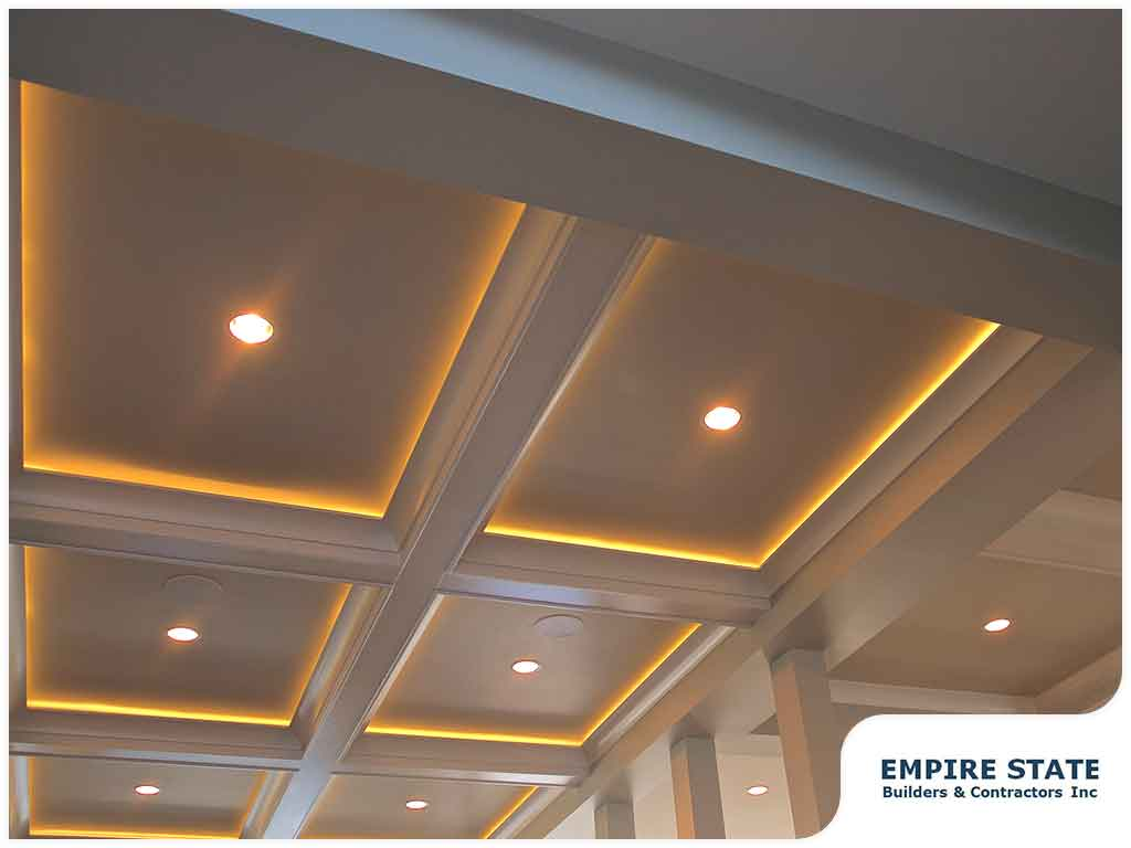 using recessed lighting in the kitchen