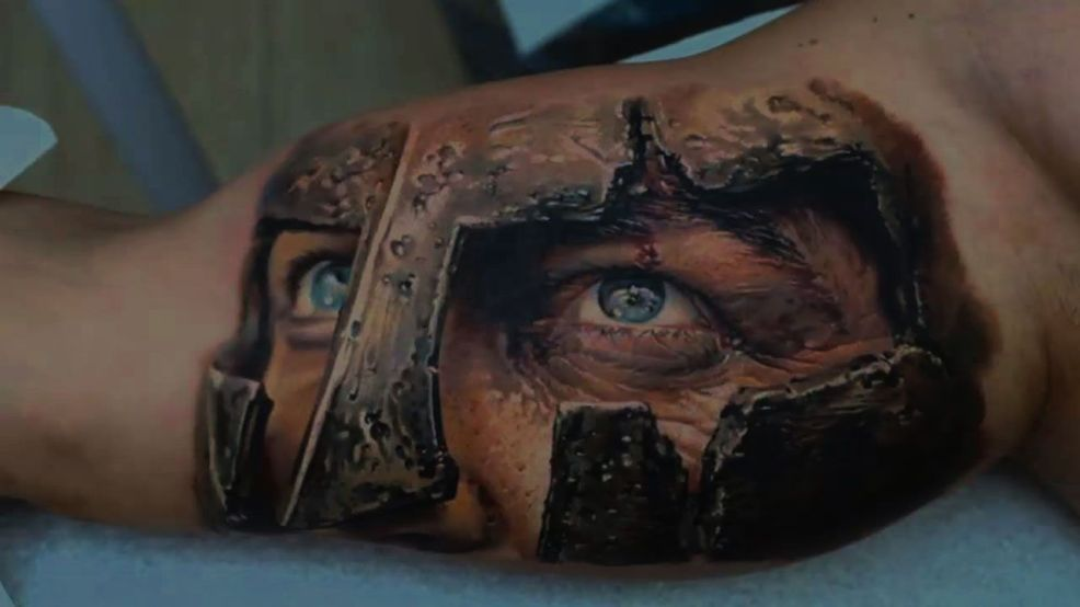 3d тату для мужчин и девушек фото эскизы и значения 3д татуировок