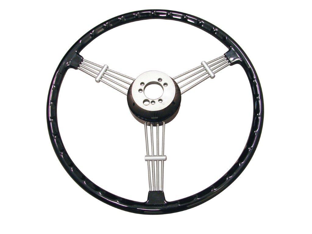 Banjo Style Vintage Steering Wheel Kit Black
