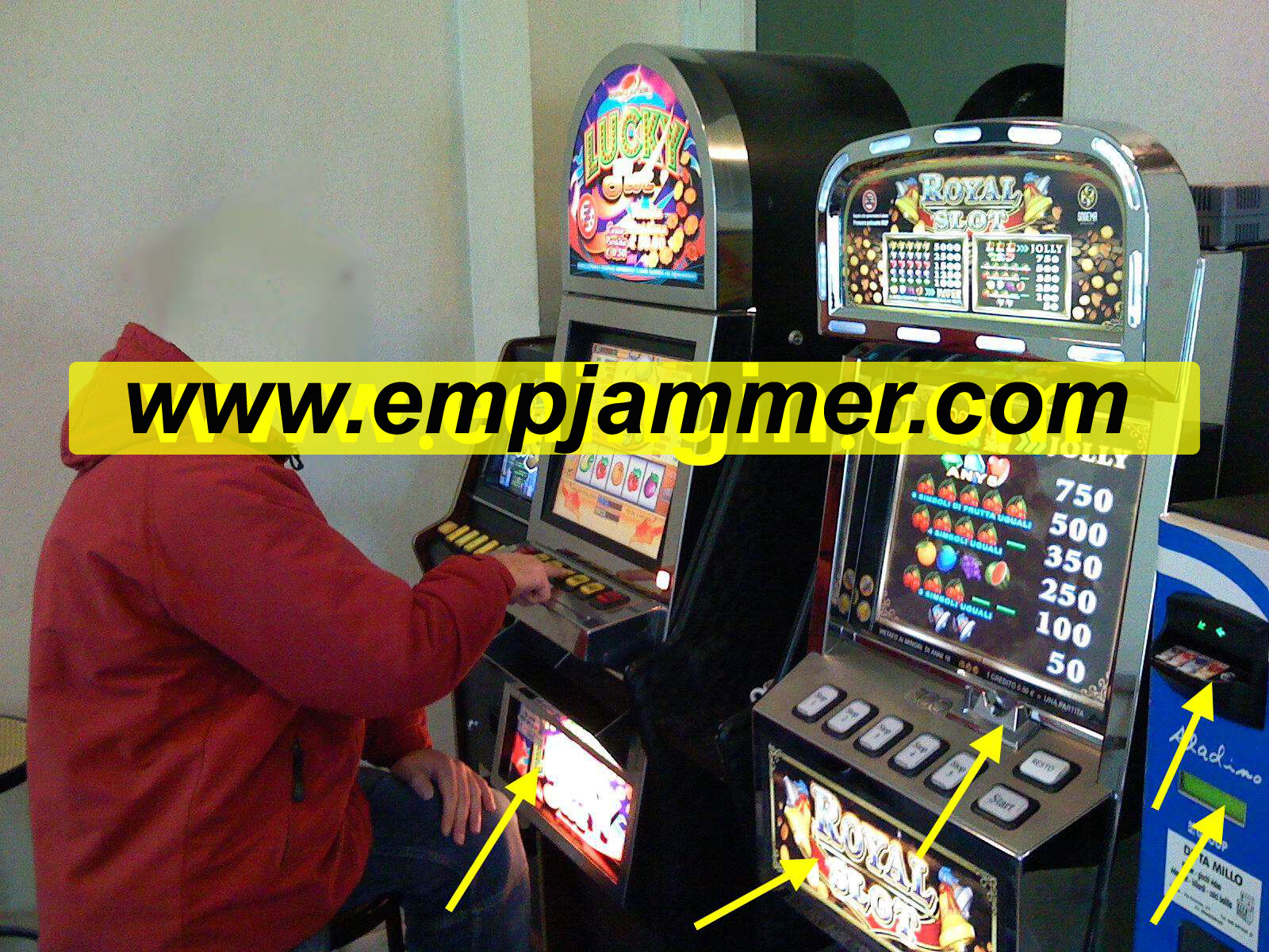 Slot Machine Jammer Schematic