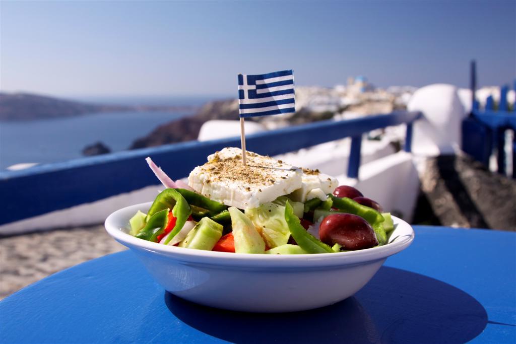 Men de comida griega para el verano  Emplatando Madrid