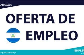 ¿Aún sin Empleo? Esta es tu Oportunidad - Buscamos Ejecutivos de ventas- En Nicaragua Hay Empleo Para ti