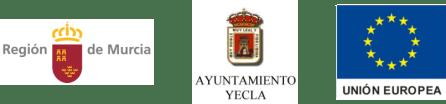 logos_RegionMurcia_AytoYECLA_UnionEuropea