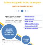 Talleres online para personas desempleadas desde la Oficina SABER en Murcia