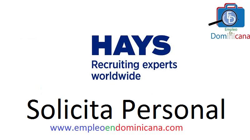 vacantes de empleos disponibles en HAYS aplica ahora a la vacante de empleo en República Dominicana