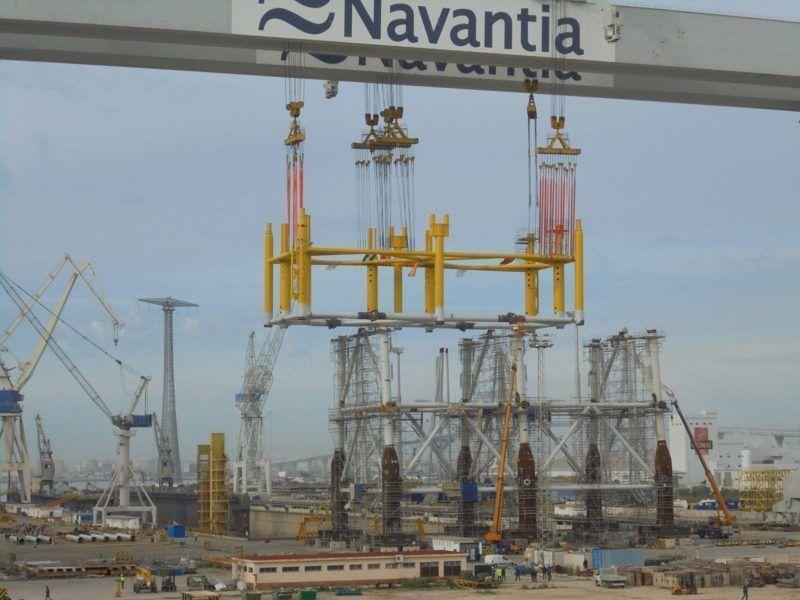 6.000 puestos de empleo en los astilleros de la Bahía de Cádiz para la construcción de 5 corbetas.