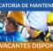 6.833 ofertas de trabajo de MANTENIMIENTO encontradas