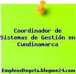 Coordinador de Sistemas de Gestión en Cundinamarca