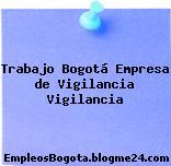 Trabajo Bogotá Empresa de Vigilancia Vigilancia