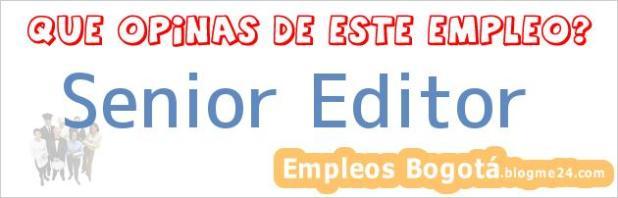 Senior Editor
