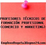 PROFESORES TÉCNICOS DE FORMACIÓN PROFESIONAL (COMERCIO Y MARKETING)