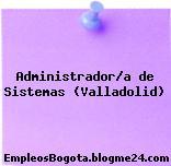 Administrador/a de Sistemas (Valladolid)