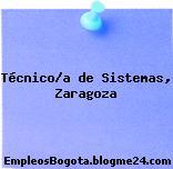 Técnico/a de Sistemas (Zaragoza)