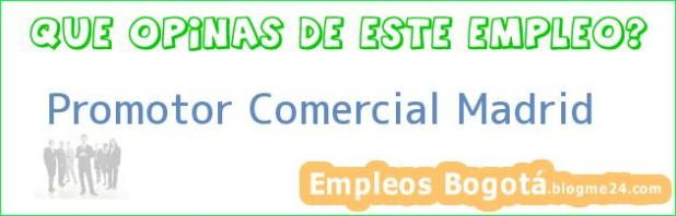 Promotor Comercial Madrid