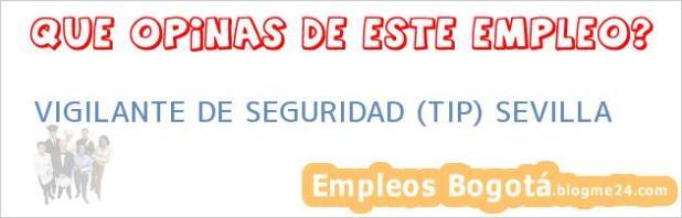 VIGILANTE DE SEGURIDAD (TIP) SEVILLA