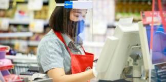cajera empresa de distribucion cashier distribution company