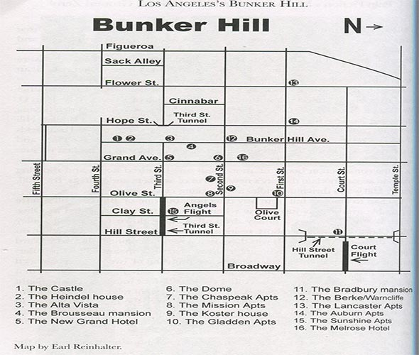 BUNKER HILL, DOWNTOWN LOS ANGELES