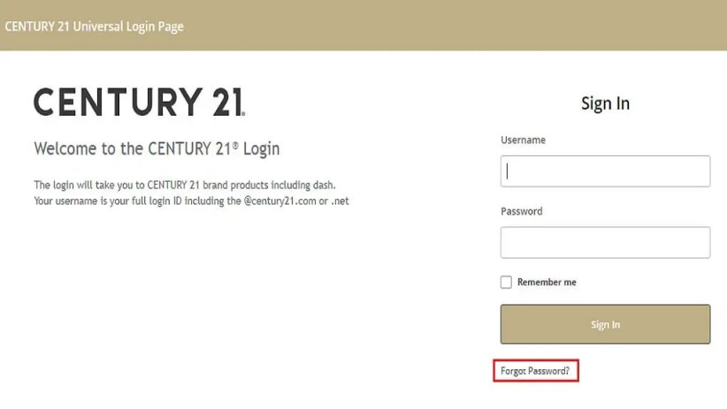 c21online forgot password