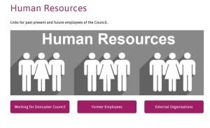 Doncaster council HR Portal