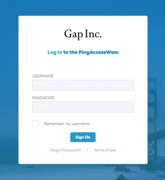 Gap Employee Portal Login