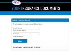 mce insurance login