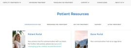 CNY Fertility Patient Portal