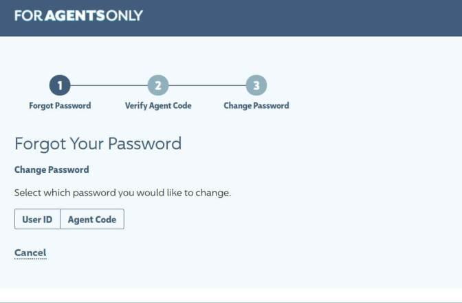 ForAgentsOnly Agent Login Password Reset Process