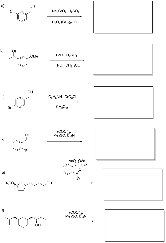 Reactivity: redox: organic