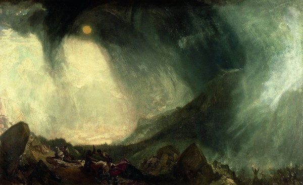 Turner Hannibal Crossing the Alps