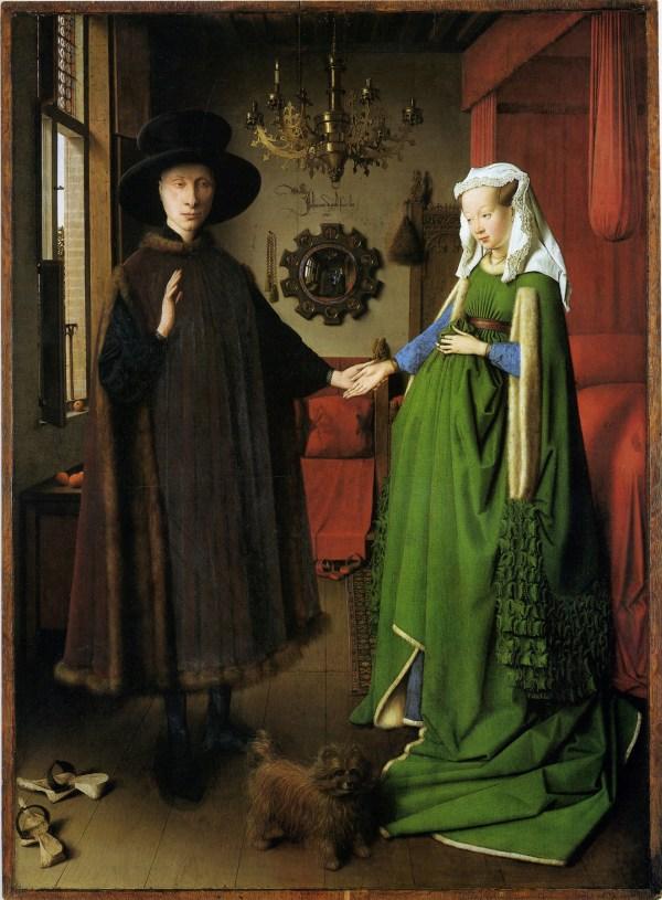 Jan Van Eyck' Arnolfini Wedding Portait