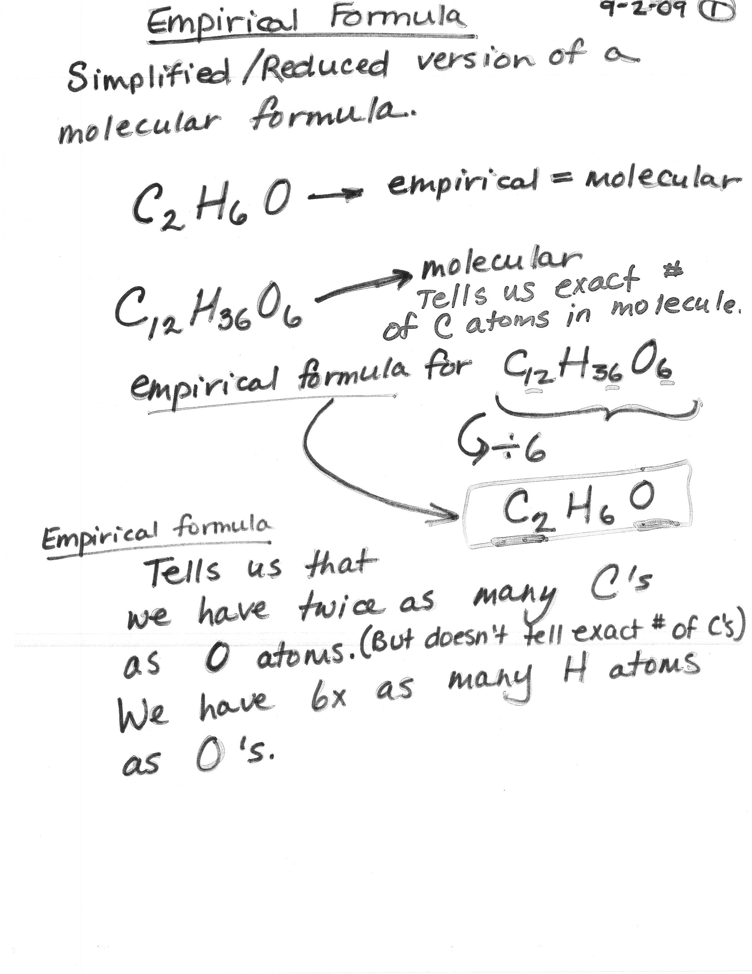 Empirical Formula Of Acetic Acid