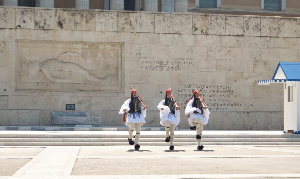 Change of Guards, Athens