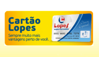 FATURA DO CARTÃO LOPES SUPERMERCADOS