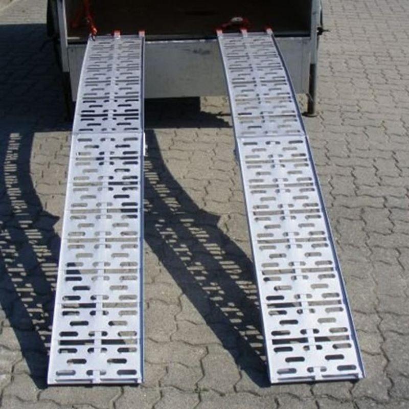 Rampa di carico in alluminio per moto
