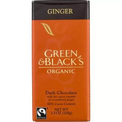 Chocolate Orgánico Green & Black's Ginger 60% Cacao- Tienda Gourmet Emporio LaMarta