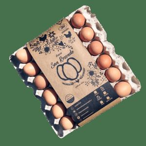 Huevos San Rosendo Primera Color Gallina Feliz - Tienda Gourmet Emporio LaMarta