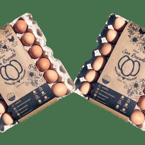 Pack 3 Bandejas de Huevos San Rosendo Categoría Primera Gallina Feliz - Tienda Gourmet Emporio LaMarta
