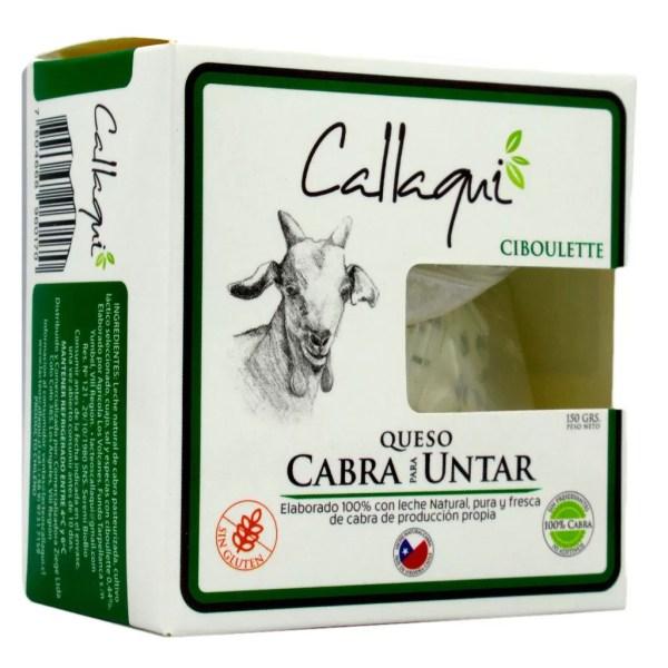 Queso de Cabra Untable Ciboulette Callaqui - Tienda Gourmet Emporio LaMarta