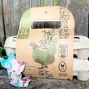 Pack Transportable Huevos San Rosendo 24 unidades - Tienda Gourmet Emporio LaMarta