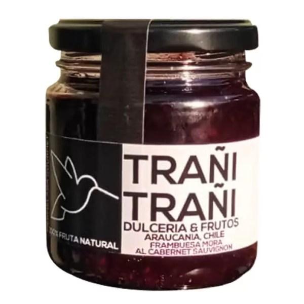Mermelada-FrambuesaMoraAlCabernetSauvignon-Trani-Trani-250grs