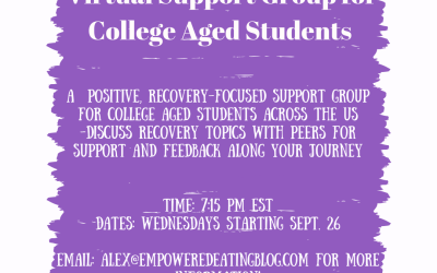 Tips for Starting School in Eating Disorder Recovery