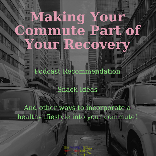 Making Your Commute Part of Your Recovery