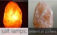Himalayan Salt Lamps: Ambient Air Purifiers!