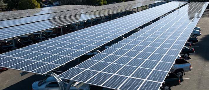 solar carports solar car park