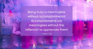 Meme - Being busy is meaningless - Page