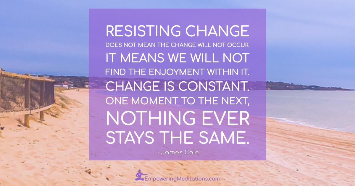 Meme - Resisting change - Page
