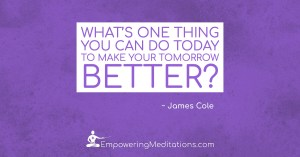 Question - What can you do today - Page