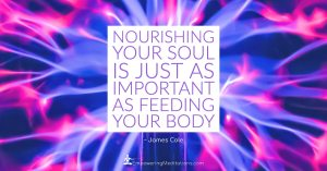 Meme - Nourishing your soul is just as important as feeding your body - Page